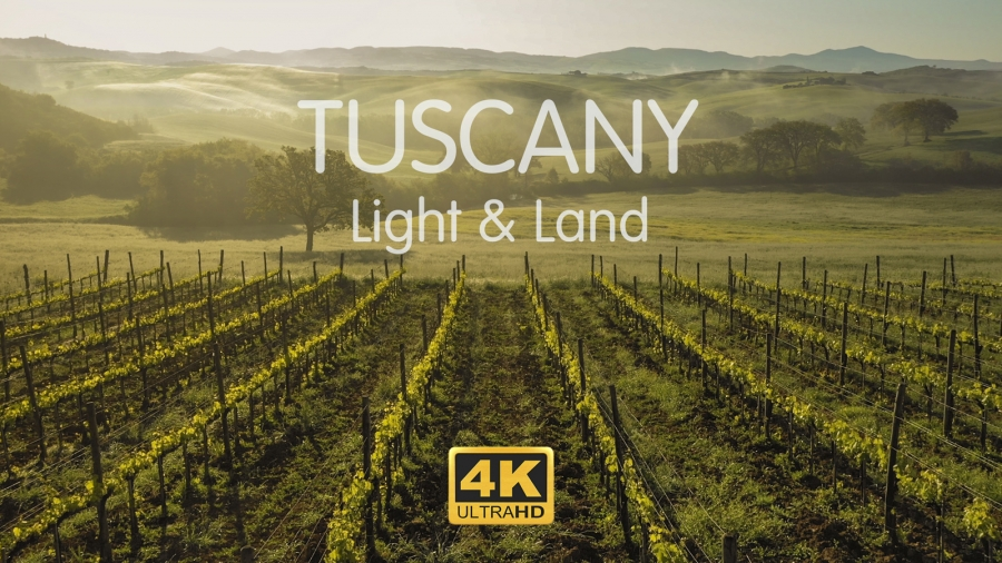 Meet Our New Video.Tuscany. Light & Land