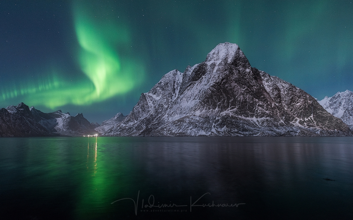 Lofoten Islands. January 2021